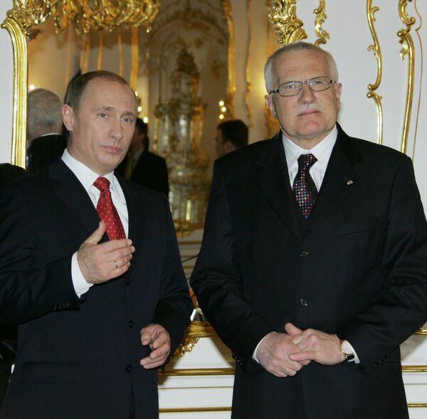 На саммите РФ-ЕС в Хабаровске делегацию ЕС возглавит президент Чехии