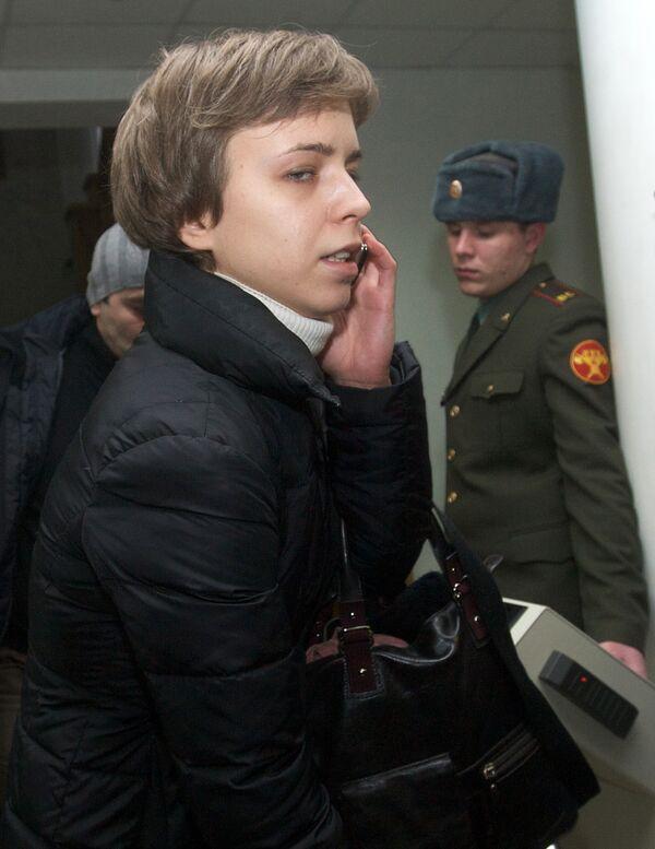 Дочь Анны Политковской Вера Политковская