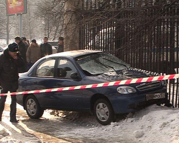Автомобиль сбил пешеходов на западе Москвы. Видео с места события