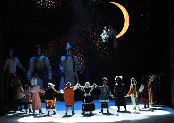 Музыкальная феерия Ночь перед Рождеством в Московском театре Гоголя