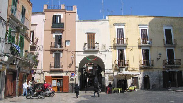 Улицы итальянского города Бари