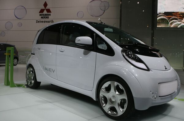Mitsubishi i MiEV на Женевском международном автосалоне