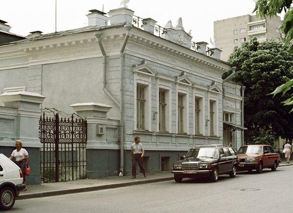Особняк на улице Рылеева