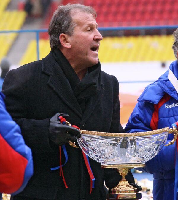 Главный тренер ЦСКА Зико после матча за Суперкубок России