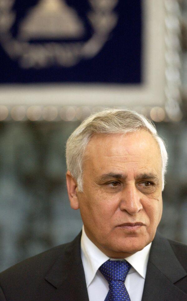 Экс-президент Израиля Моше Кацав.