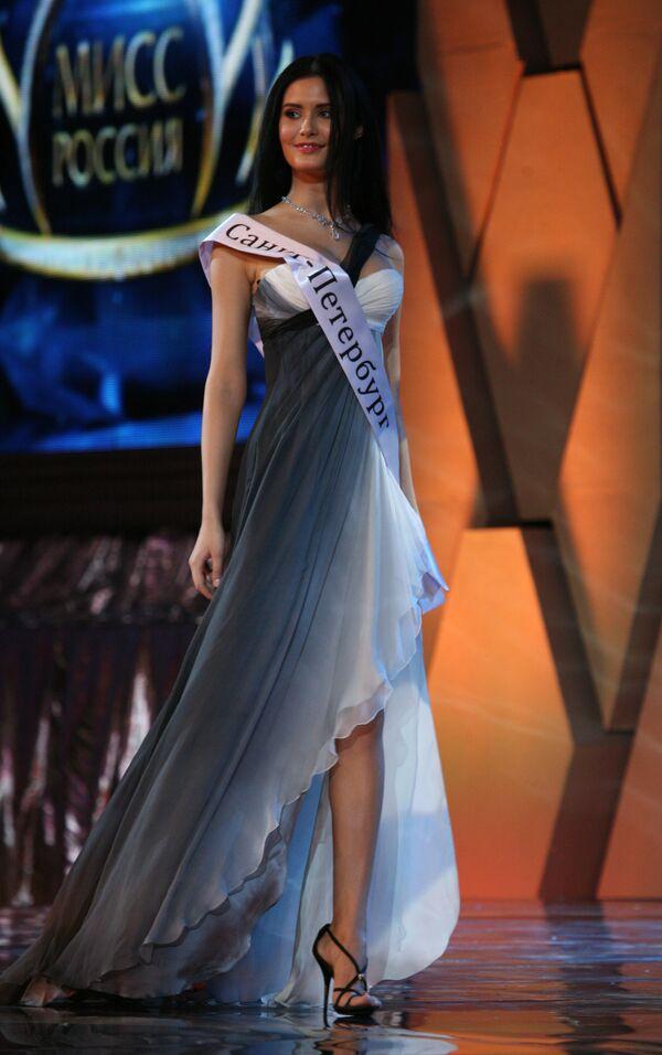 Победительница национального конкурса красоты Мисс Россия — 2009 София Рудьева из Санкт-Петербурга