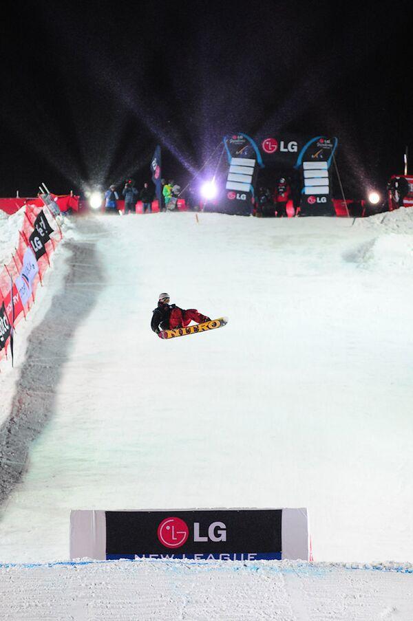 В Москве прошёл финальный этап Кубка мира по сноуборду 2009