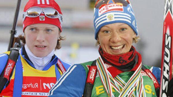 Светлана Слепцова и Ольга Зайцева