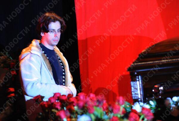 Прощание с Яном Арлазоровым в Театре Эстрады