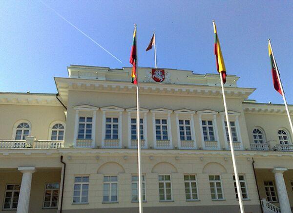 Президентский дворец в Вильнюсе. Архивное фото