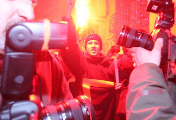 Оппозиционная коалиция Другая Россия провела акцию День несогласных