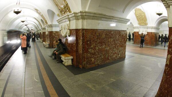 Станция метро Краснопресненская. Архив
