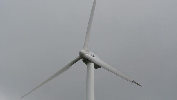 Выработка ветряной энергии. Архив