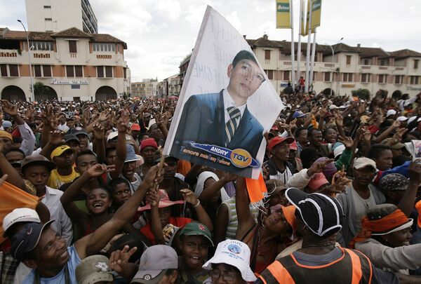 Беспорядки на Мадагаскаре