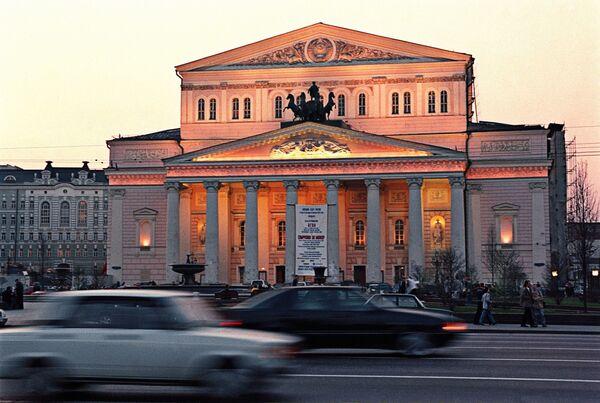 Здание Большого театра. Архив