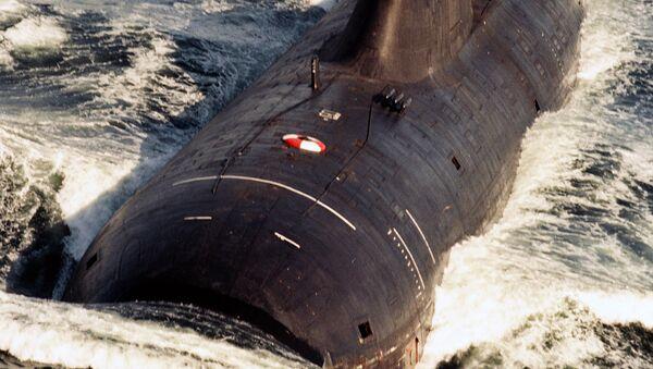 Атомная подводная лодка. Архив