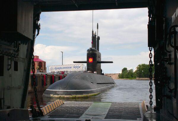 Новейшая ДЭПЛ Санкт-Петербург войдет в состав флота в 2010 году