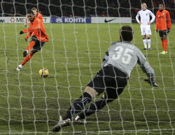 Матч Кубка УЕФА Шахтер - ЦСКА