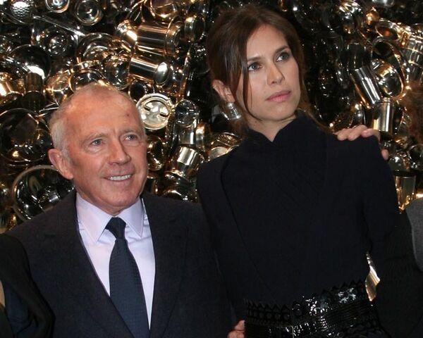 Дарья Жукова пригласила коллекицонера Франсуа Пино в Гараж