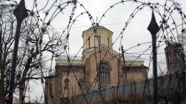 Косово сегодня: сербский православный храм в Приштине