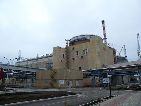 Запущен первый энергоблок Волгодонской АЭС