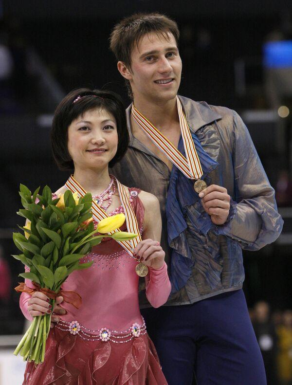Юко Кавагути и Александр Смирнов стали бронзовыми призерами чемпионата мира по фигурному катанию