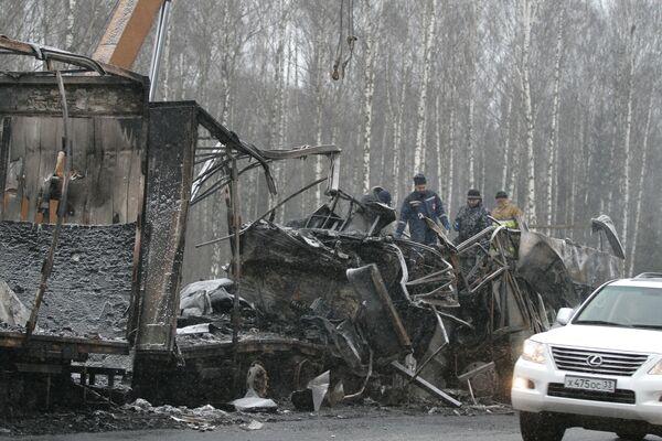 Тела шестерых ульяновцев после опознания отправлены из Владимира