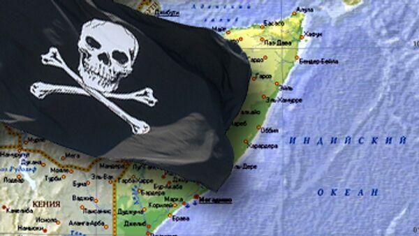 Сомалийские пираты захватили греческое судно с 28 членами экипажа