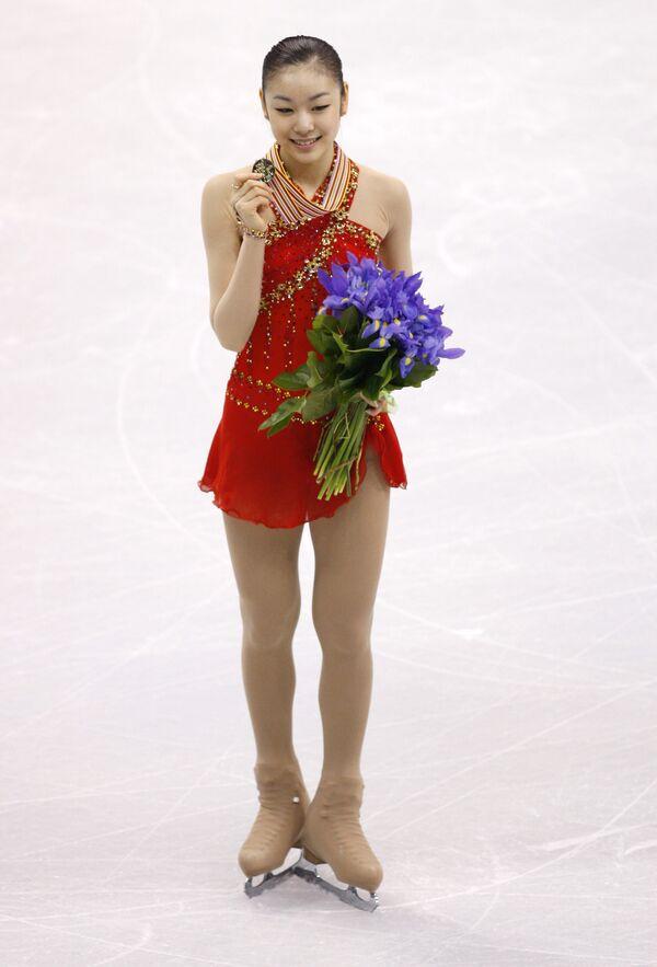 Корейская фигуристка Ким Ю На