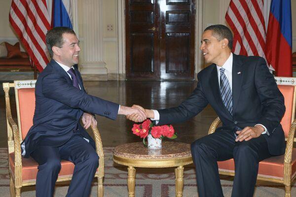 Обама даст интервью Новой газете - Белый дом