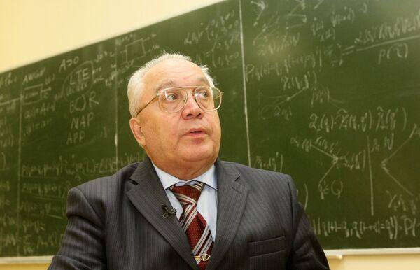 Виктор Садовничий во время семинара на факультете ВМиК МГУ
