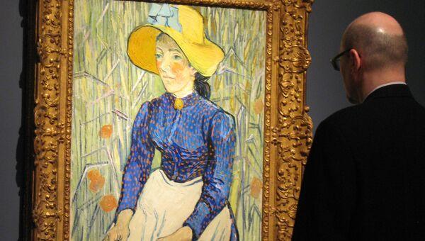 Винсент Ван Гог - Портрет молодой крестьянки