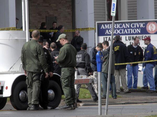 Захват заложников в миграционном центре города Бингемтон в штате Нью-Йорк