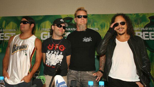 Группу Metallica увековечат в Музее славы рок-н-ролла