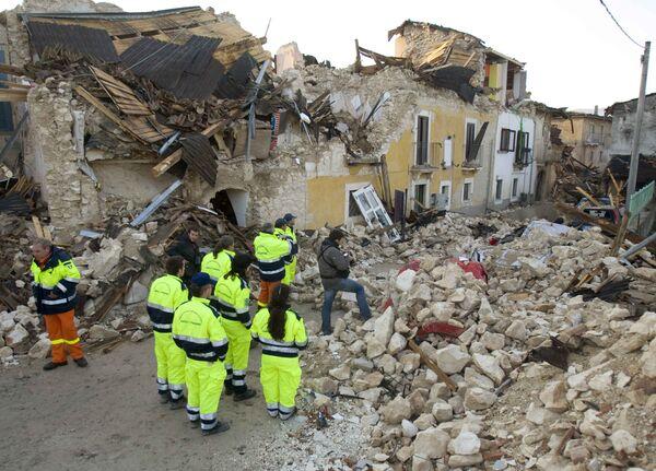 В результате землетрясения в Италии 29 тысяч человек остались без крова