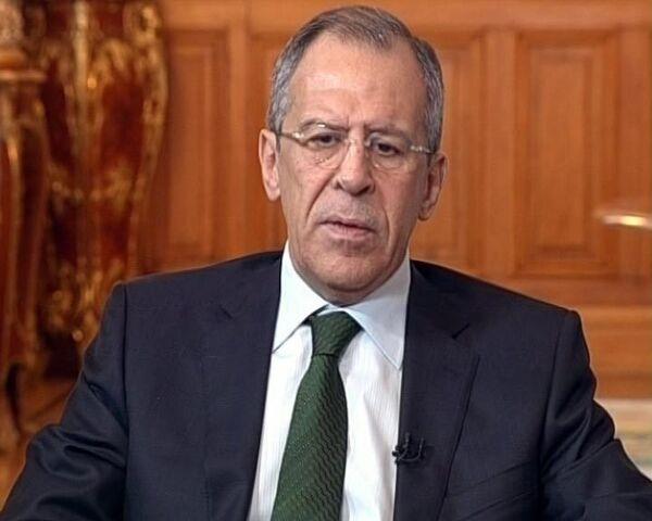 Лавров о встрече Обамы и Медведева, беспорядках в Молдове и кризисе
