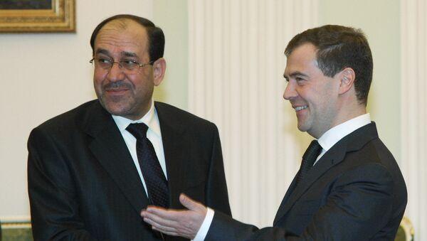 Встреча президента РФ Дмитрия Медведева с премьер-министром Ирака Нури аль-Малики