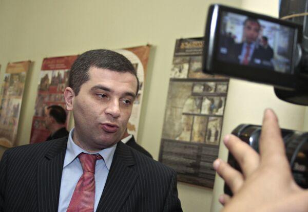Глава парламента Грузии Давид Бакрадзе. Архив