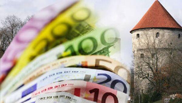 Зарплаты министров и других чиновников Эстонии сократят на 8%
