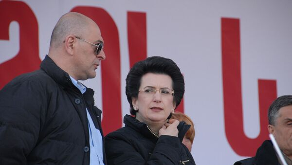 Экс-спикер парламента Грузии Нино Бурджанадзе. Архивное фото