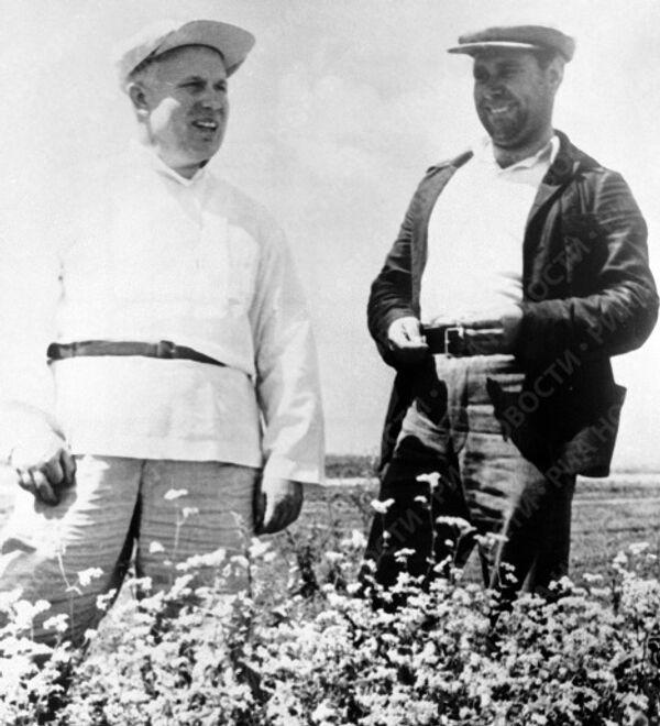 Хрущев и Мищенко