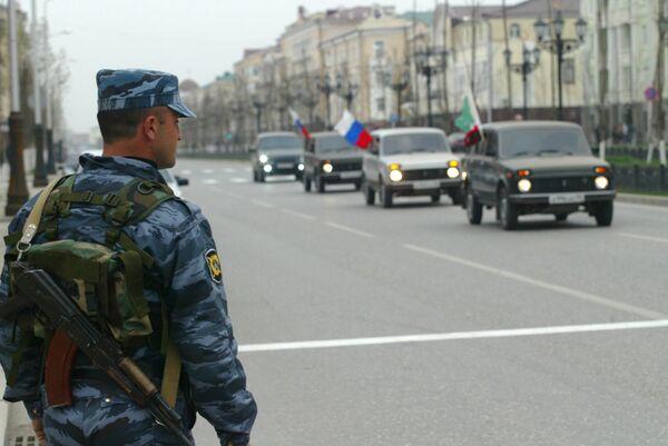 В Чечне празднуют отмену режима контртеррористической операции