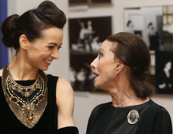 Актриса Диана Вишнева, лауреат премии Золотая Маска