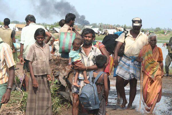 Тамильские беженцы