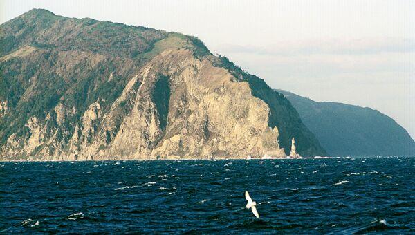 Мыс Анива на острове Сахалин. Архив