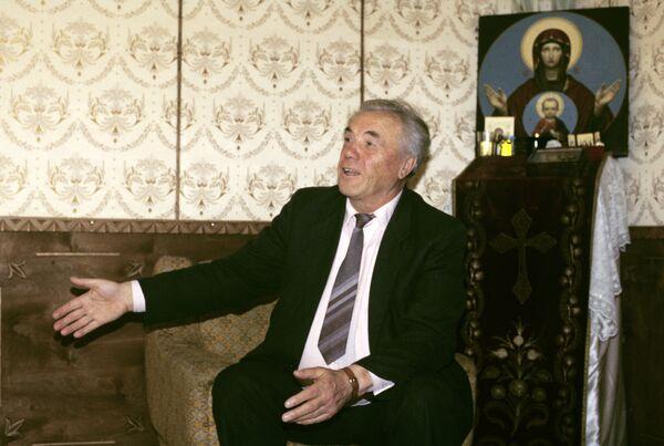 Писатель В.Астафьев