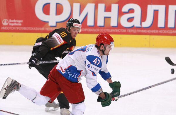 Чемпионат мира по хоккею 2009. Россия - Германия - 5:0
