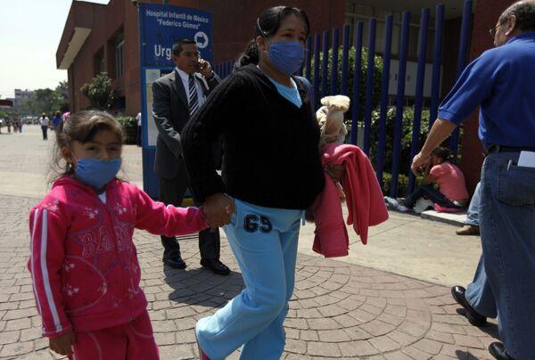 Эпидемия гриппа свиней в Мексике