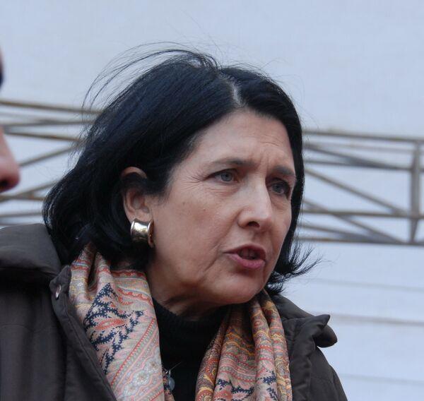 Экс-министр иностранных дел Грузии Саломе Зурабишвили
