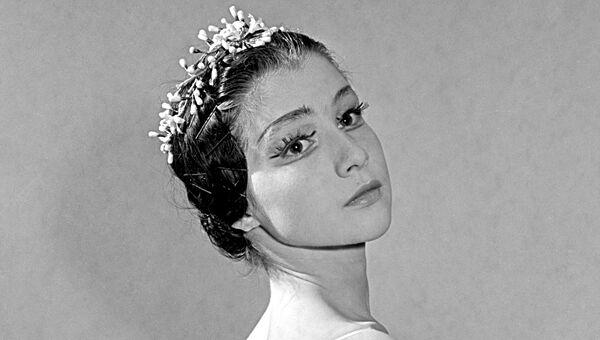 Екатерина Максимова  - солистка балета Большого театра, архивное фото